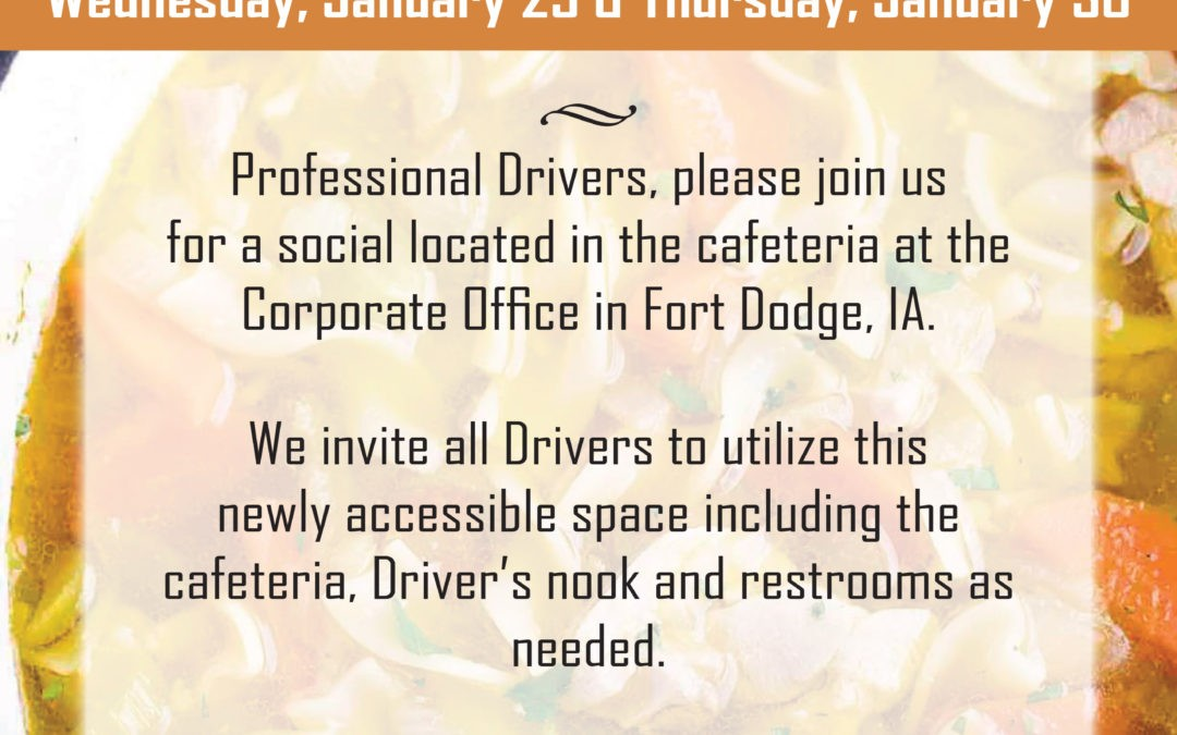 Professional Driver After Hours Open House (1/15/2020)
