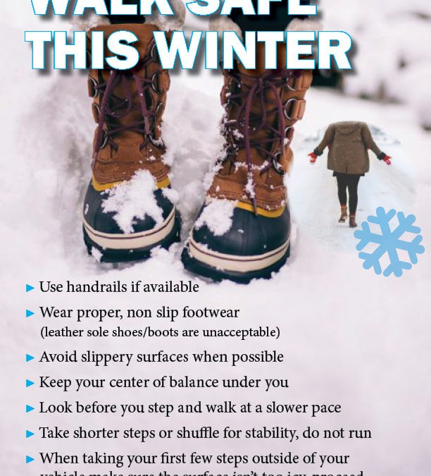 Walk Safe This Winter (1/13/2020)